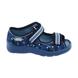Befado children's shoes 969X141 navy blue