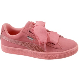 Puma Suede Heart Snk Jr 364918-05 shoes pink