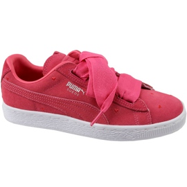 Puma Suede Heart Jr 365135-01 shoes red