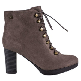 Goodin Warm Suede Boots brown
