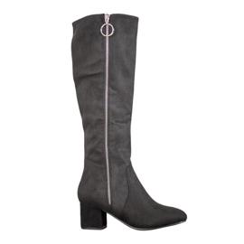 SHELOVET Boots With Decorative Slider black