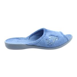 Befado women's shoes pu 256D003 blue