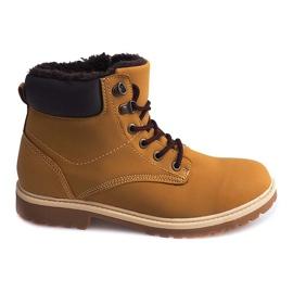 Timberki Snow Boots D08 Camel brown