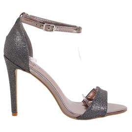 Graphite TU130 Black sandals