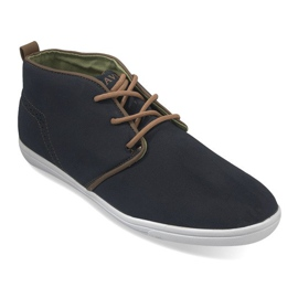 High Casual Sneakers A001-1 Blue navy