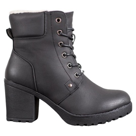 J. Star Casual Ankle Boots black