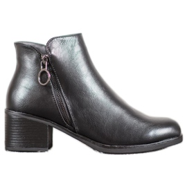 J. Star Warm Boots With Eco Leather black