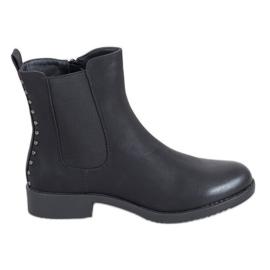 J. Star Comfortable Jodhpur boots black