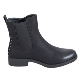 J. Star Comfortable Jodhpur boots black