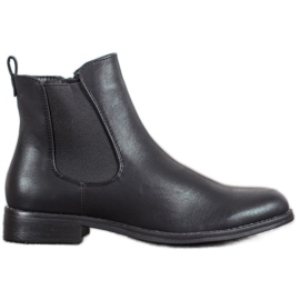 J. Star Jodhpur Boots With A Zipper black