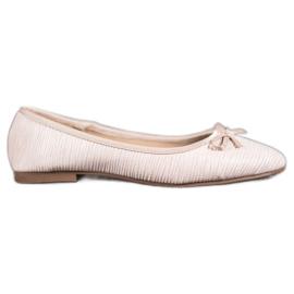 Evento Comfortable Ballerina brown