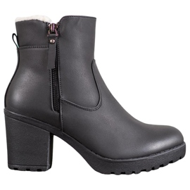 J. Star Casual Booties black