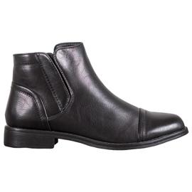 J. Star Elegant Ankle Boots black