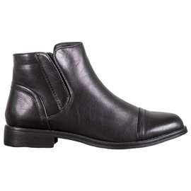 J. Star Elegant Ankle Boots black