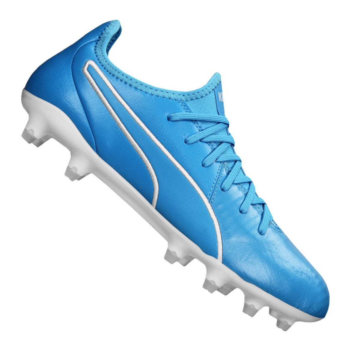 ferita Osservare Fratellanza  Puma King Pro Fg M 105608-04 football boots blue blue - ButyModne.pl