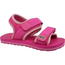 Lacoste Sol 119 Jr 737CUC00222J4 shoes pink