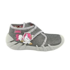 Befado children's shoes 523P016 pink grey