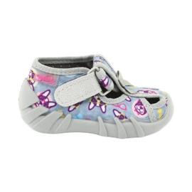 Befado children's shoes 190P093 blue grey multicolored