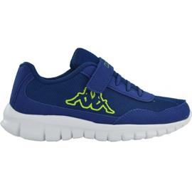 Kappa Follow K Jr 260604K 6033 shoes blue