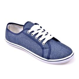 Denim Sneakers G1 Blue