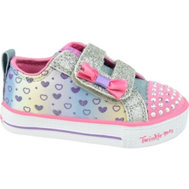 Skechers Shuffle Lite Jr 20135N-SMLT shoes pink