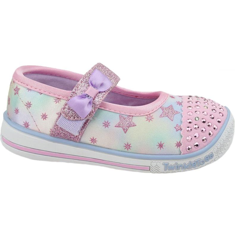 Skechers Twinkle Play Jr 20140N-PKMT shoes multicolored