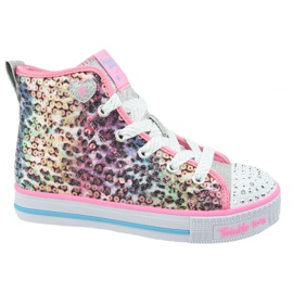 Skechers Twinkle Lite Jr 20241L-PKMT shoes multicolored