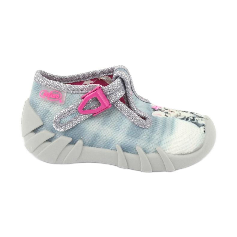 Befado kitty children's shoes 110P365 grey