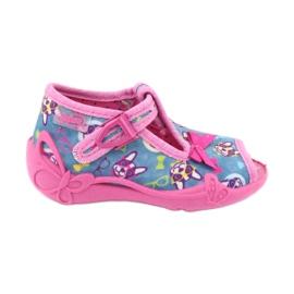 Befado pink children's shoes 213P113 blue