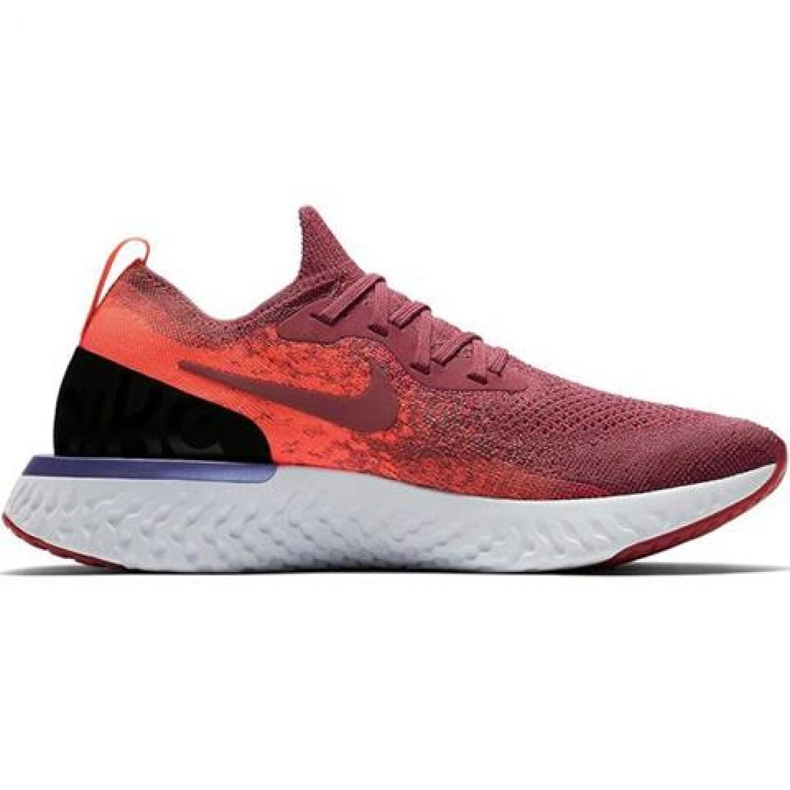 Nike Epic React Flyknit W AQ0070 601 running shoes red