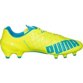 Puma Evo Speed 1.4 Lth Fg M 103615 03 football shoes yellow yellow
