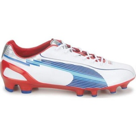 Puma Evo Speed ​​1 Fg M 102527 01 football shoes white white