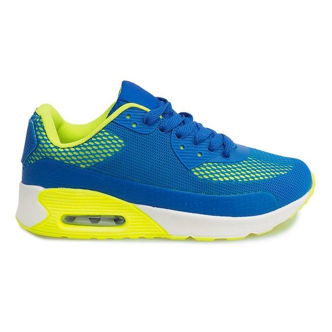 DN3-8 Royal sports running shoes blue