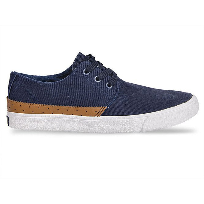Fabric Sneakers Casual Y010 Blue navy