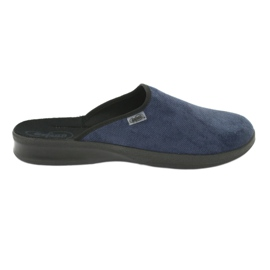 Befado men's shoes pu 548M018 black navy