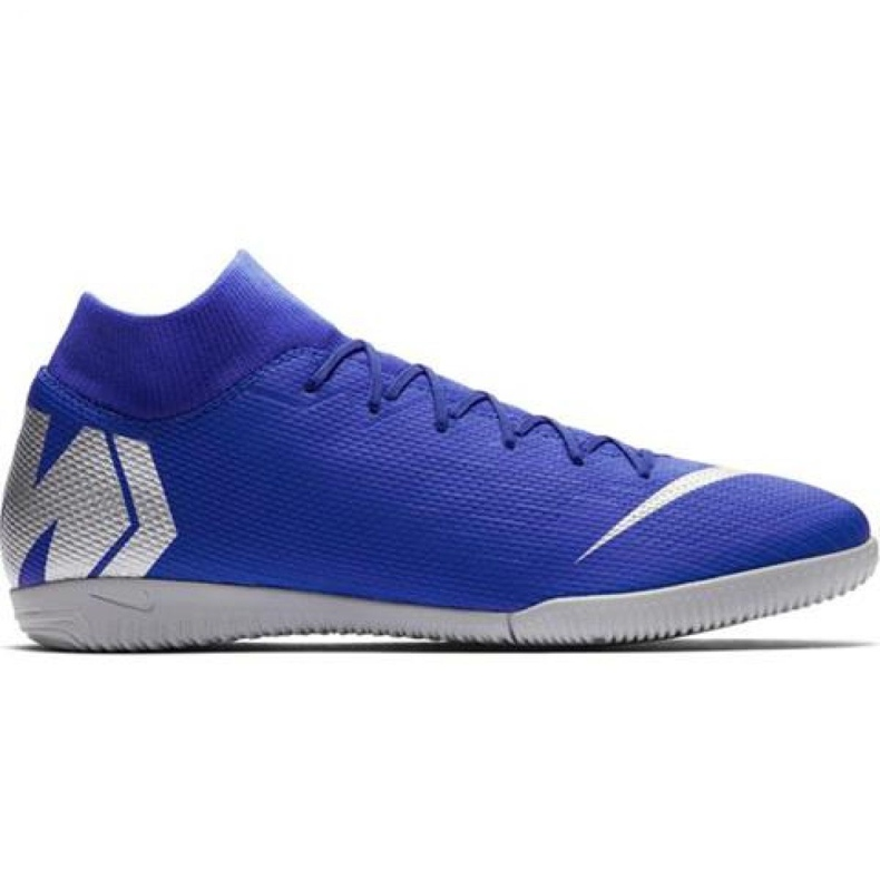 Nike Mercurial Superfly 6 Academy Ic M AH7369-400 indoor shoes blue blue