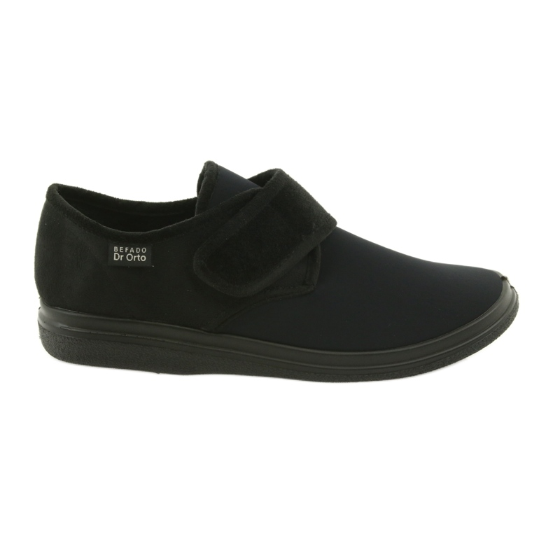 Befado men's shoes pu 036M006 black