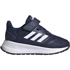 Adidas Runfalcon I Jr EG6153 shoes white navy