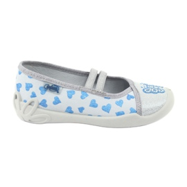 Befado hearts children's shoes 116X267 blue grey
