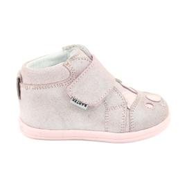 Velcro booties Koala Bartek 71150 pink grey