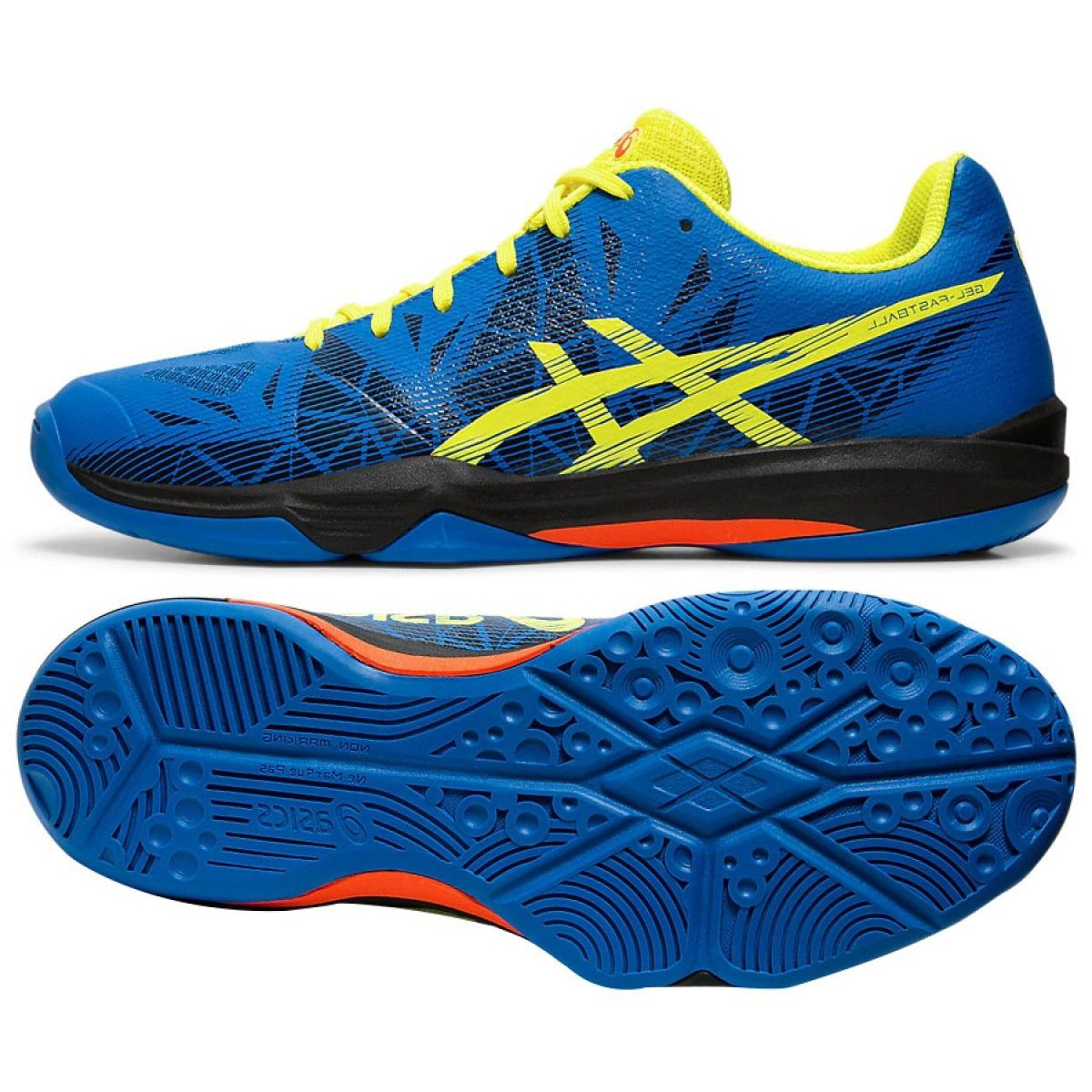 Asics Gel Fastball 3 M E712N-401 shoes blue blue