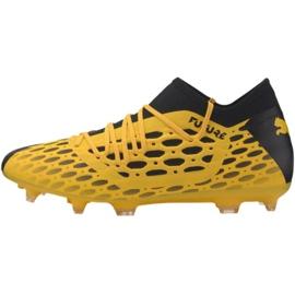 Puma Future 5.3 Netfit Fg Ag M 105756 03 football shoes yellow yellow