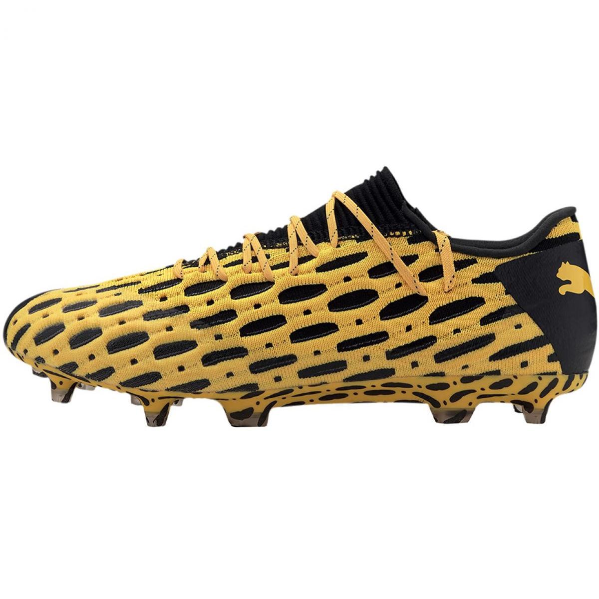 Puma Future 5.1 Netfit Low Fg Ag M 105791 02 football shoes yellow yellow