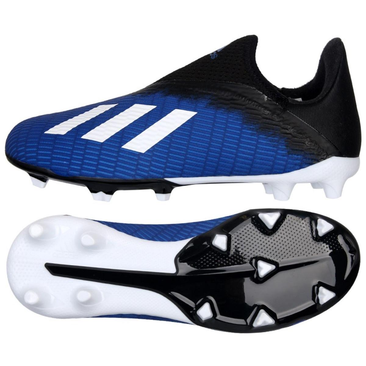 Adidas X 19.3 Ll Fg Jr EG9840 football shoes black black