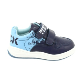 American Club GC18 Velcro Sports Shoes navy blue