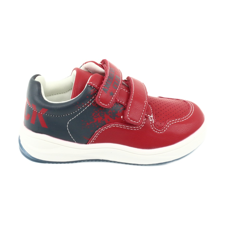 American Club GC18 Velcro Sports Shoes red navy