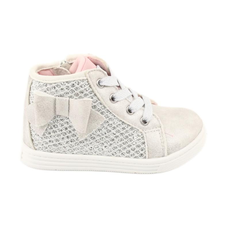 American Club girls' sports shoes GC17 white grey