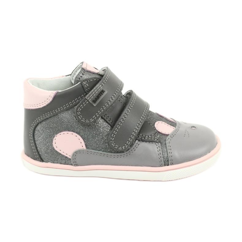Velcro hooks rabbit Bartek 11702 pink grey
