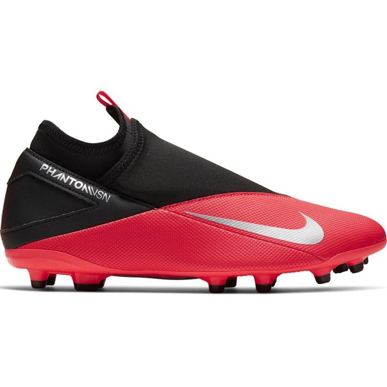 Nike Phantom Vsn 2 Club DF / MG M CD4159-606 football shoes red red