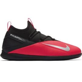Indoor shoes Nike Phantom Vsn 2 Club Df Ic Jr CD4072-606 red black